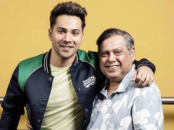 Varun Dhawan Wishes His Father David Dhawan With A Special Birthday Post