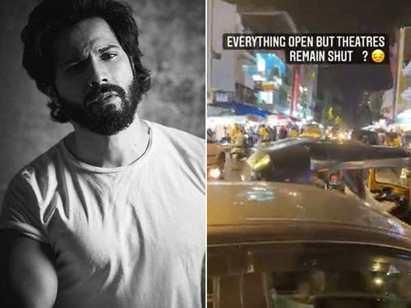 Varun Dhawan Not Happy With The Theatres Still Remaining Shut In Maharashtra
