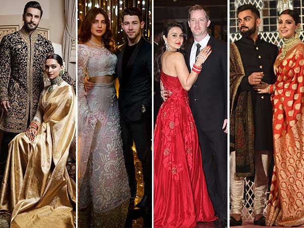 10 Wedding Reception Looks Inspired By B-Town Ladies