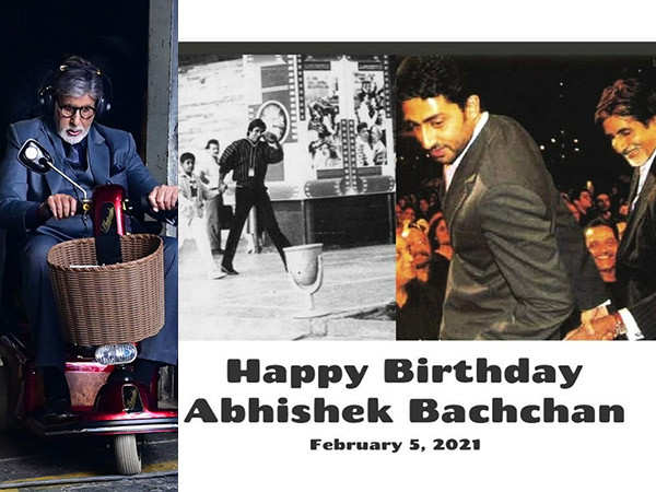 Amitabh Bachchan has the sweetest birthday message for Abhishek Bachchan
