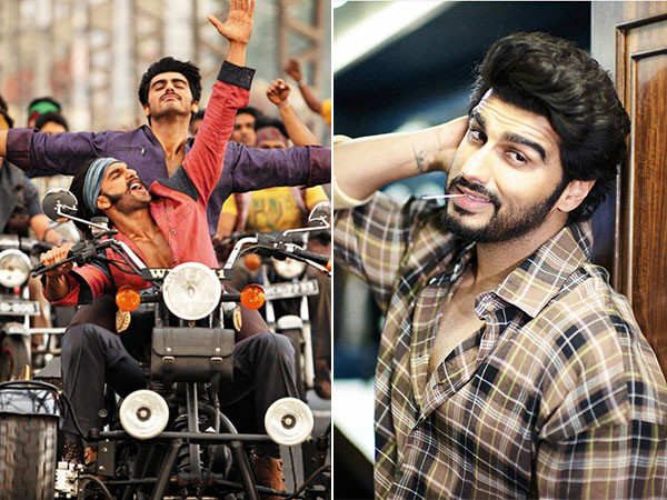 Arjun Kapoor says he and Ranveer Singh are like chalk and cheese and still manage to fit together
