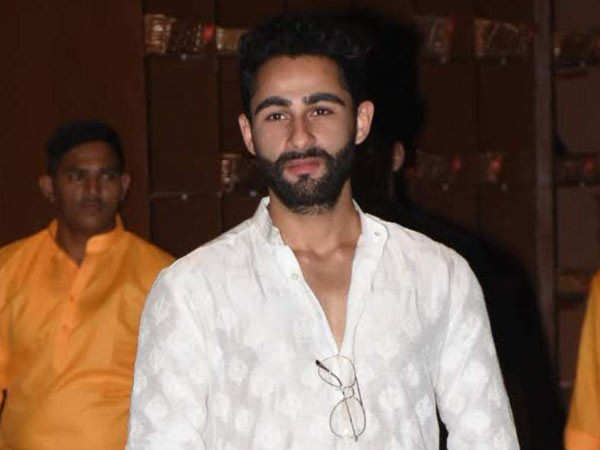 Armaan Jain snapped at the Enforcement Directorate office