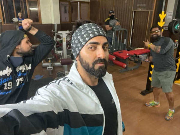 Ayushmann Khurrana's Valentine's Day was about fitness and spreading cheer