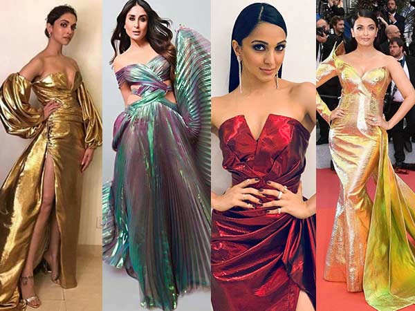 B-Town Ladies Express Their Love For Metallic Outfits