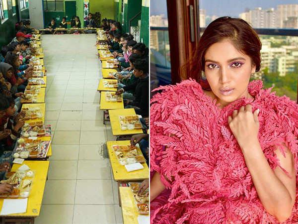 Bhumi Pednekar celebrates Valentine's Day in the bestest way possible with underprivileged kids
