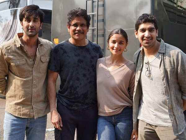 Nagarjuna shares pictures with Alia Bhatt and Ranbir Kapoor as he concludes filming for Brahmastra