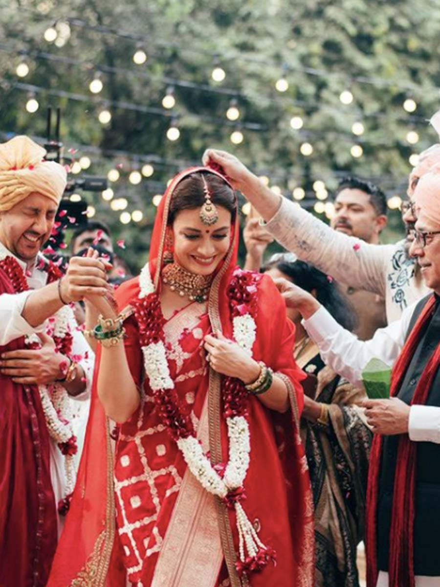 , Dia Mirza writes about the unconventional practices she followed on her wedding, Indian & World Live Breaking News Coverage And Updates