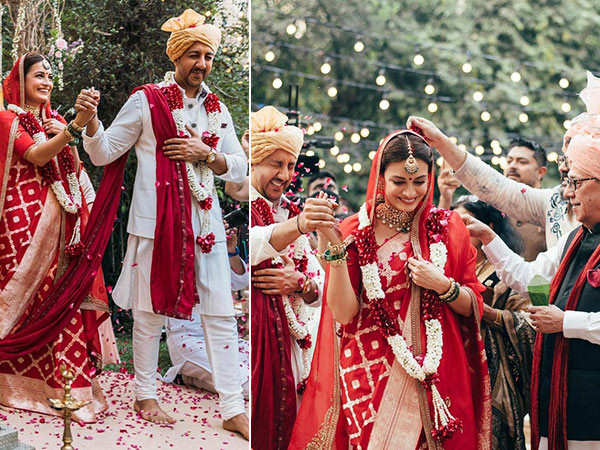 These Wedding Pictures Of Dia Mirza And Vaibhav Rekhi Look Divine