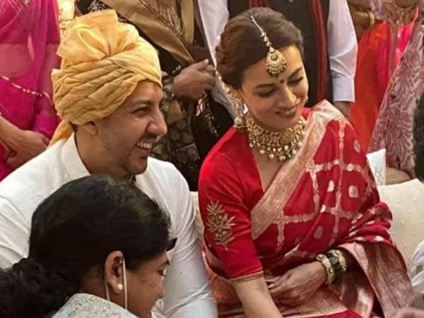Inside Pictures And Videos From Dia Mirza And Vaibhav Rekhi's Wedding Ceremony