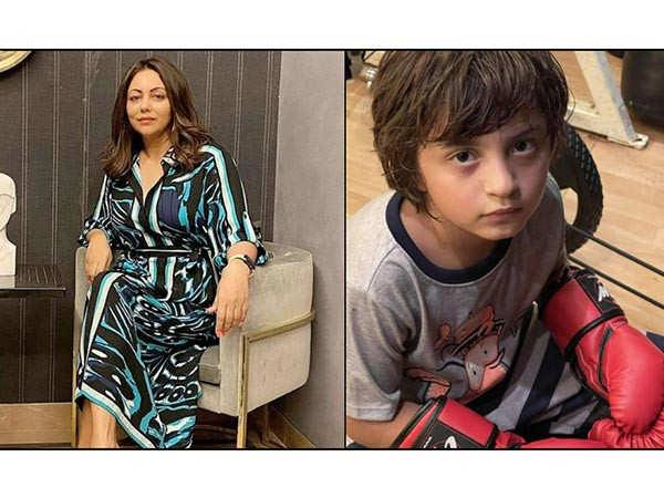 Gauri Khan shares a picture of her Mike Tyson aka AbRam Khan