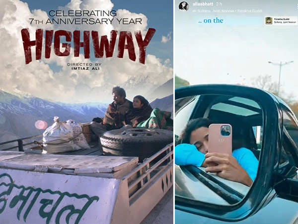Alia Bhatt celebrates 7 years of Highway in the sweetest way possible