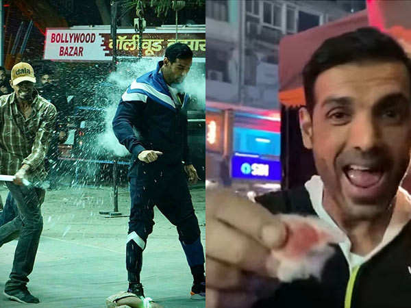 John Abraham injures himself while shooting for an action sequence for Attack