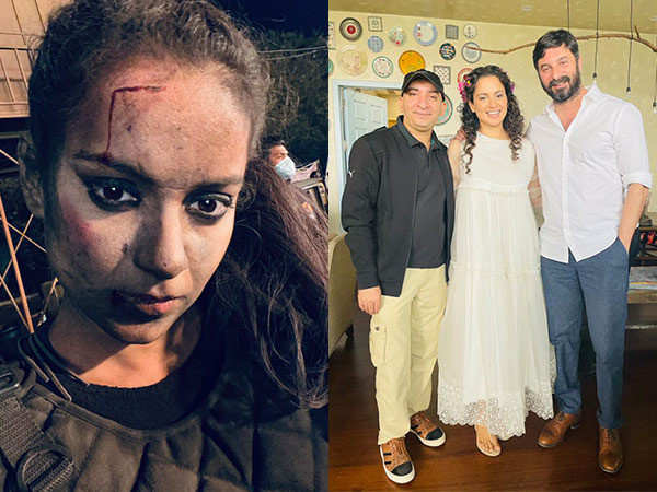 Kangana Ranaut wraps up a schedule for Dhaakad, shares the excitement with netizens