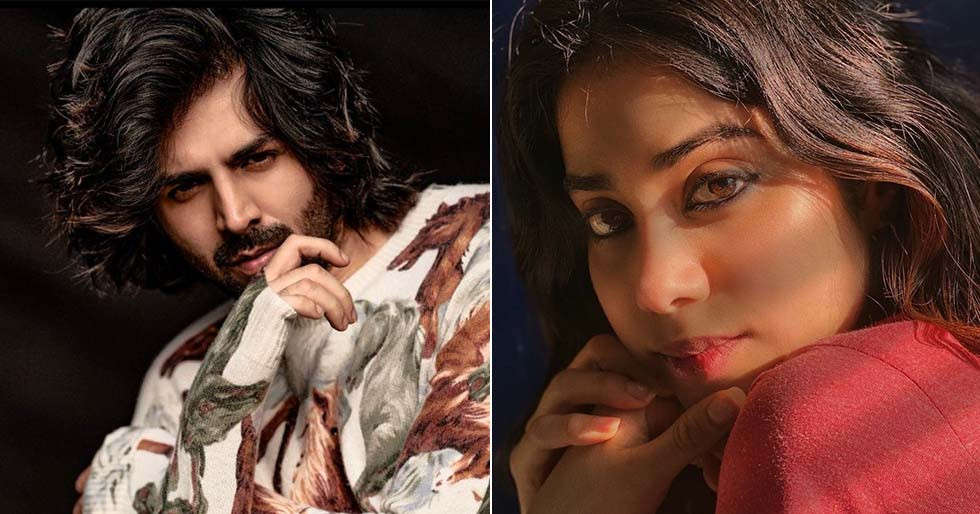 Janhvi Kapoor leaves a heart-emoticon on Kartik Aaryan's special Valentine Day post