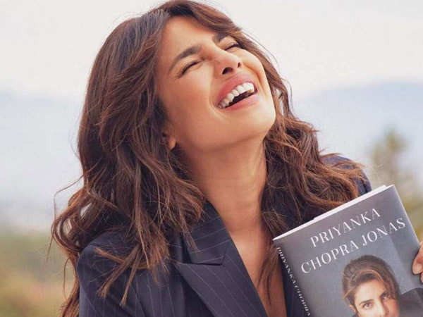 Priyanka Chopra has a busy day signing copies of Unfinished for her fans