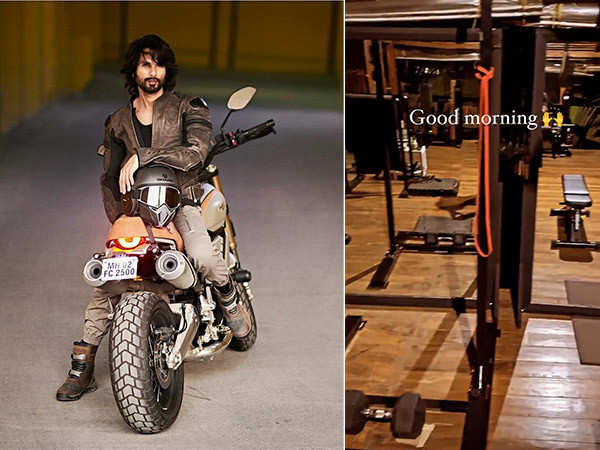 Shahid Kapoor's mornings start with ultimate fitness plans