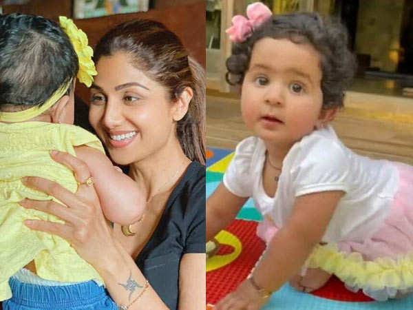 Shilpa Shetty Shares An Adorable Post On Her Daughter Shamisha's First Birthday