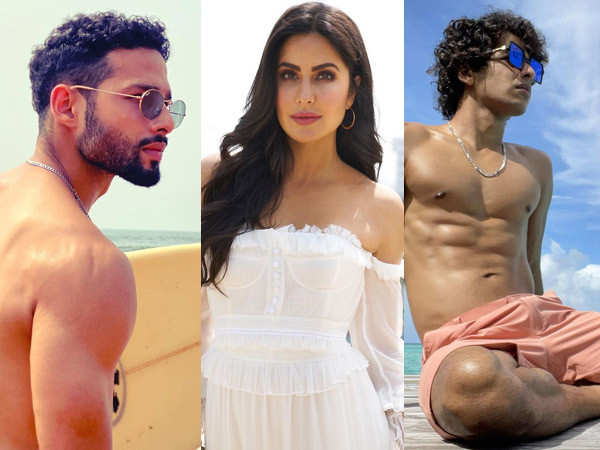 Siddhant Chaturvedi and Ishaan Khatter challenge Katrina Kaif to work out with them