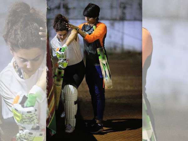Taapsee Pannu trains with Mithali Raj's friend for Shabaash Mithu