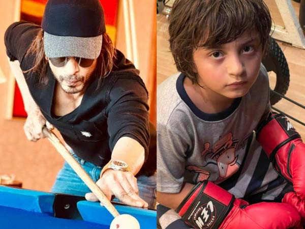 Gauri Khan shares an adorable click of AbRam and Shah Rukh Khan posts a cute comment