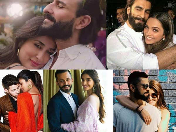 8 Bollywood Couples Whose Instagram PDA  Will Be Your Ultimate Mush-Fix