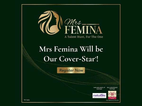 Register Now For Mrs Femina 2021: The Grand Talent Hunt Begins