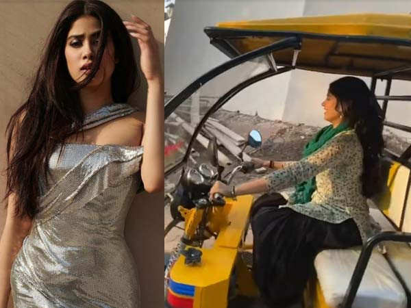 Janhvi Kapoor is having a blast while shooting for Good Luck Jerry and here's proof
