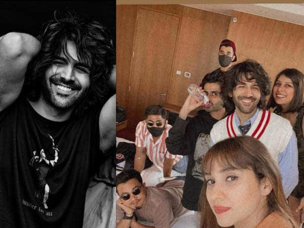 Kartik Aaryan shares a special post to introduce us to his team from a shoot