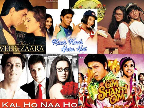 Top romantic movies of Shah Rukh Khan that prove he is truly the King of Romance