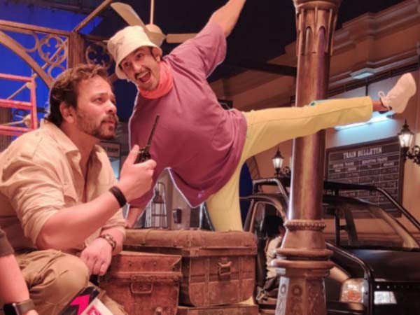 Ranveer Singh's latest video has Rohit Shetty flaunting a unique ride