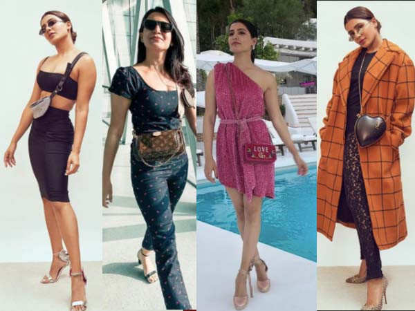 Raid-worthy pieces from Samantha Akkineni's mini bags collection