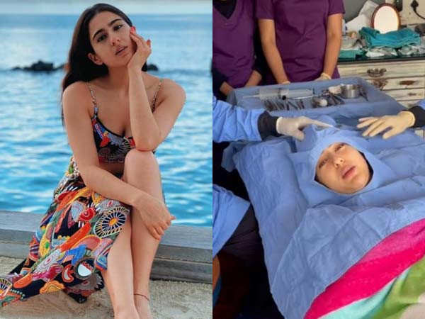 Sara Ali Khan gets her wisdom tooth extracted and shares a hilarious video of the same