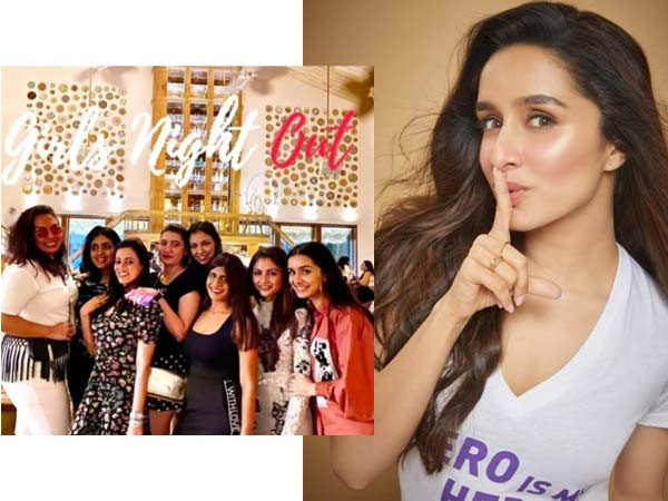 Shraddha Kapoor has a girls' night out with her friends and looks super stunning