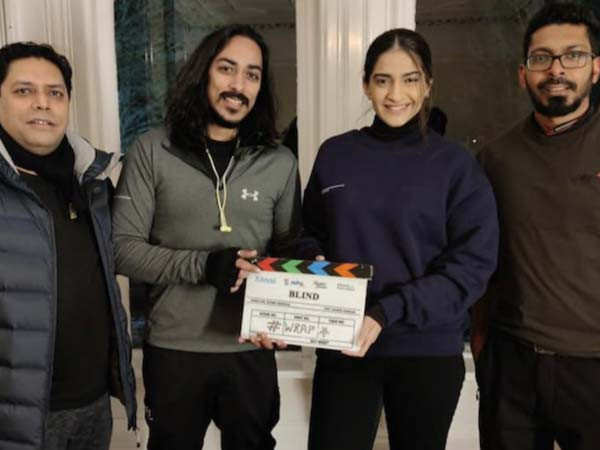 Sonam Kapoor wraps up shooting for her crime thriller Blind