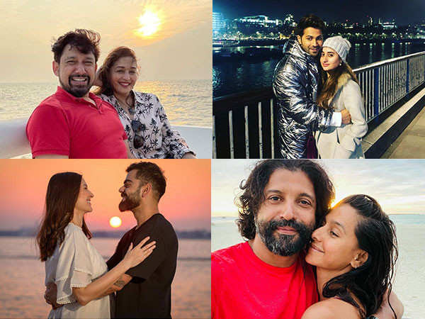 Virat Kohli-Anushka Sharma, Varun Dhawan, Malaika Arora celebrate Valentines Day with special posts