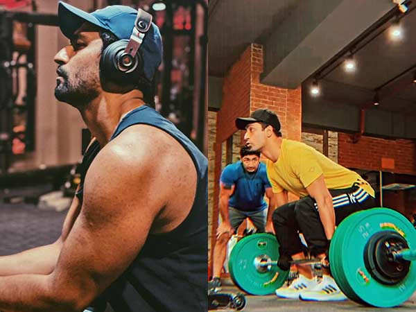 Vicky Kaushal Does Some Heavy Lifting And Amazes Us With His Dedication For Fitness