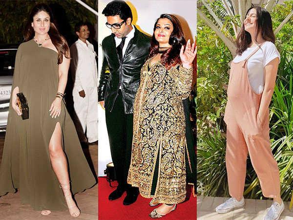 6 Bollywood Divas and Their Fashionable Maternity Wardrobe