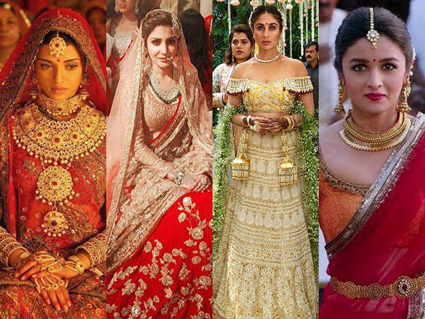 8 Inspirational Bollywood Bridal Looks of all time