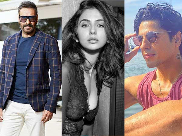 Ajay Devgn, Sidharth Malhotra, Rakul Preet announce their new film Thank God