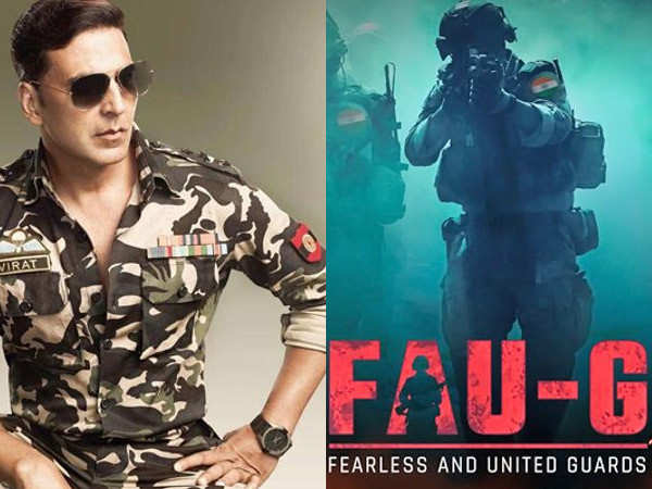 Akshay Kumar launches India's warzone game FAU-G