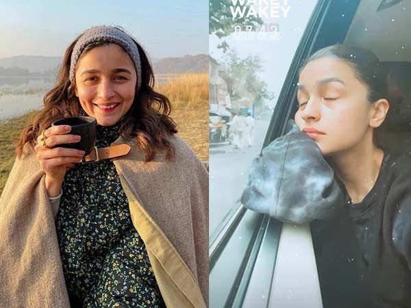 Alia Bhatt shares an adorable early morning selfie