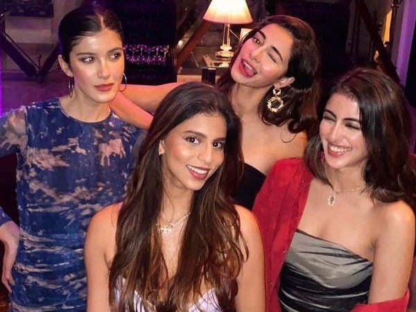 Ananya Panday gets nostalgic as she shares pictures of her girl squad