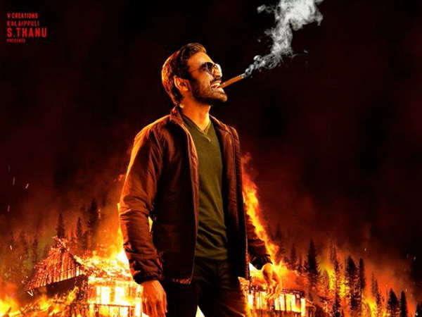 Dhanush releases the first look of his next Naane Varuven