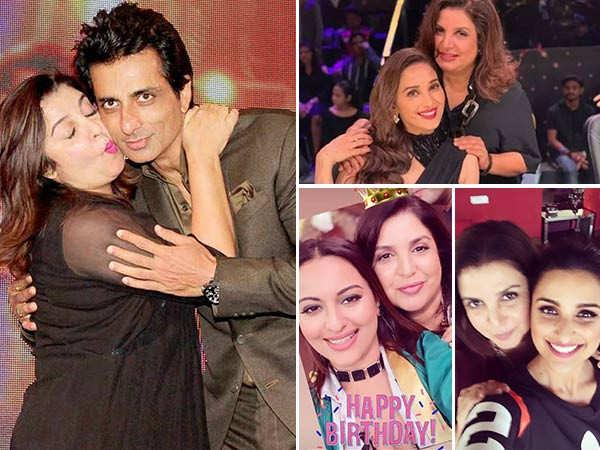 Malaika Arora, Parineeti Chopra, Sonu Sood and many more pour in wishes for Farah Khan