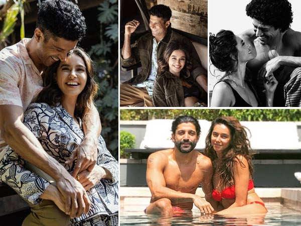 Romantic pictures of birthday star Farhan Akhtar with Shibani Dandekar