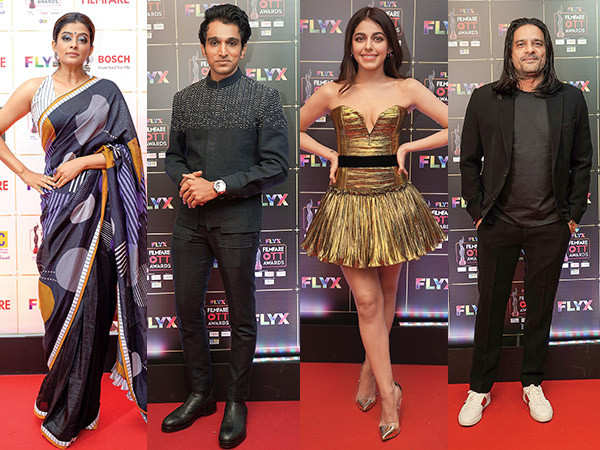 Best dressed celebs from the Flyx Filmfare OTT Awards