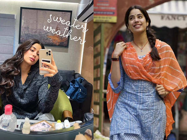 Janhvi Kapoor Starts Shooting For Her Aanand L Rai Production in Patiala