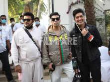 Karan Johar, Manish Malhotra and Shashank Khaitan leave from Alibaug