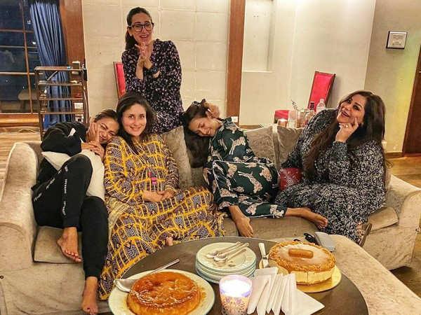 Kareena Kapoor Khan has a fun pyjama night with her squad
