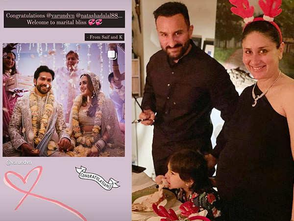 Kareena Kapoor Khan has the sweetest message for newlyweds Varun Dhawan and Natasha Dalal